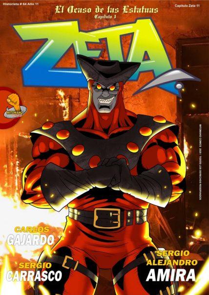 Zeta 15: El Ocaso de las Estatuas Cap.1